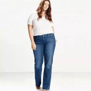 Levi 415 summertime rain plus size jeans size 22